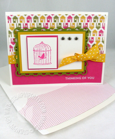 Stampin up happy moments saleabration
