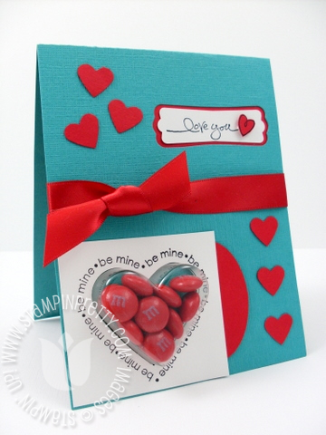 Stampin up sweetheart stamp set heart cups