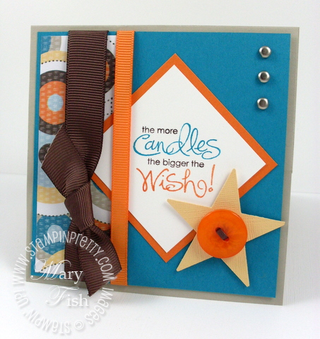 Stampin up mojo monday easel closed