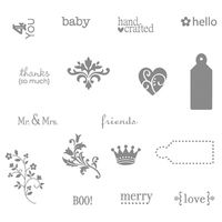 Tiny tags stampin pretty