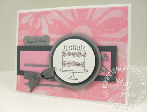 Stampin up mojo monday happy moments