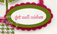 Stampin up teeny tiny wishes sentiment