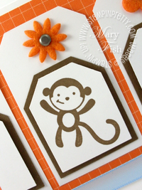Stampin up fox & friends