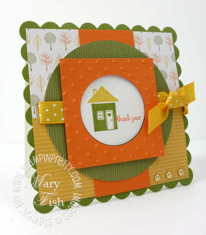 Stampin up mojo monday welcome neighbor