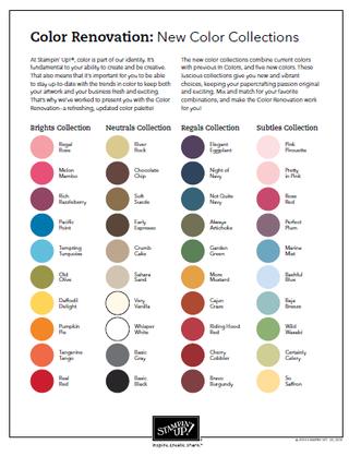 SU Color Chart