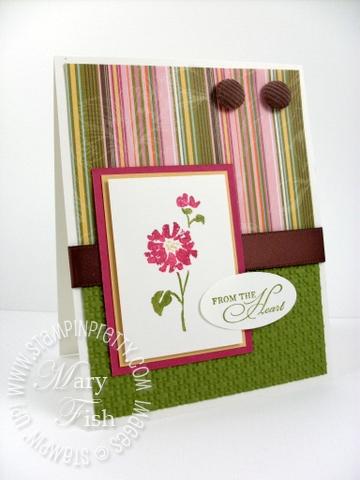 Stampin up watercolor trio summer mini catalog