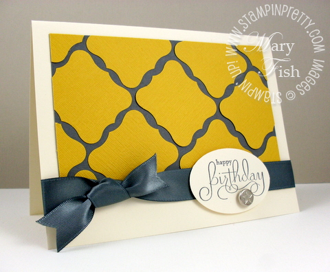 Stampin up well scripted curly label punch