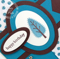 Stampin pretty trendy trees mojo monday close up