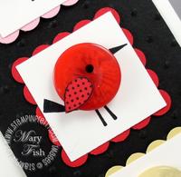 Stampin up sweetheart bird stamp pals paper arts