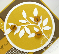 Stampin up mojo monday sizzlits dies