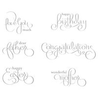 Well scripted stampin up occasions mini