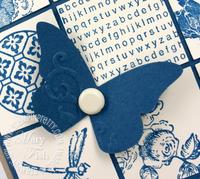 Stampin up beautiful wings embosslits die
