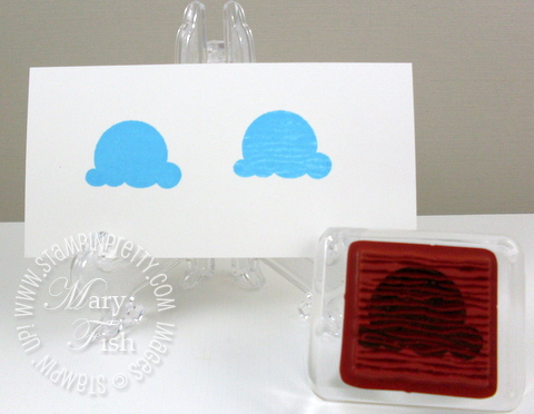 Stampin up mojo monday sweet scoops ice cream birthday card
