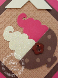 Stampin up sweet scoops dazzling diamonds