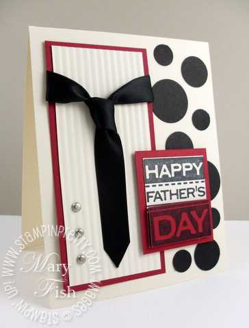 Stampin up fathers day card