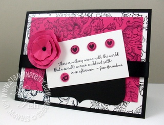 Stampin up favorite thoughts mojo monday