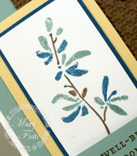 Stampin up water color trio stampin write markers