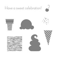 Sweet scoops stampin pretty