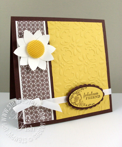 Stampin up mojo monday big shot finial press