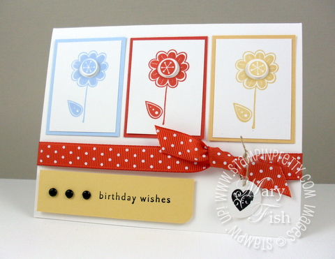 Stampin up hello again birthday pals paper arts