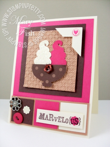 Stampin up sweet scoops summer mini catalog