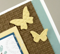Stampin up beautiful wings embosslits die