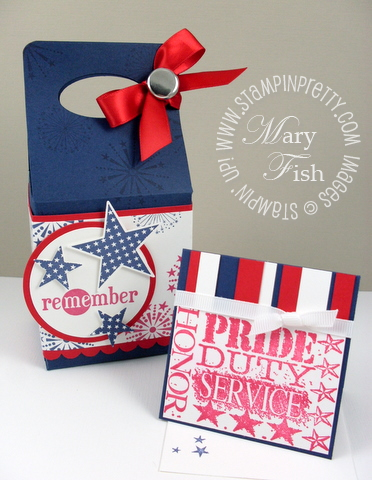 Stampin up fourth of july pals paper arts