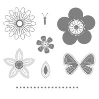 Punched posies stampin pretty