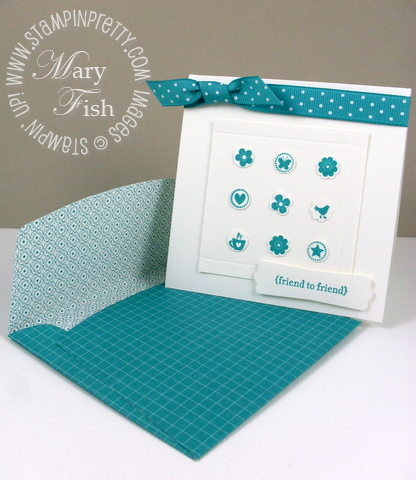 Stampin up itty bitty bits