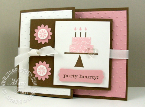 Stampin pretty joyfold card playful pieces