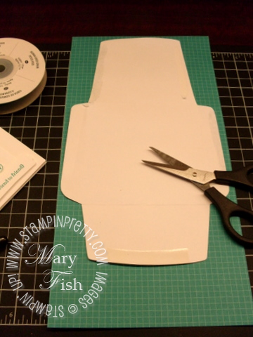 Stampin up 4 x 4 envelope