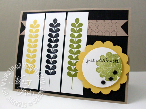 Stampin pretty apple blossoms mojo monday