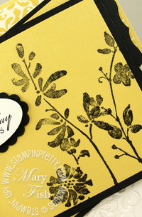 Stampin up mojo monday watercolor trio close up
