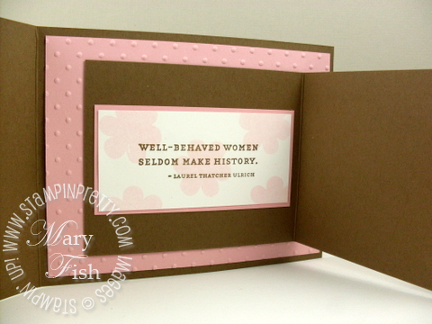 Stampin pretty favorite thoughts stampin pretty