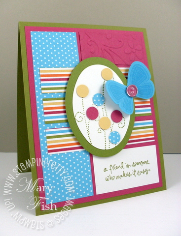 Stampin up mojo monday simply said