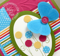 Stampin up mojo monday simply said butterfly punch