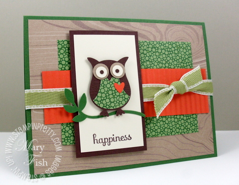 Stampin up owl punch splitcoaststampers