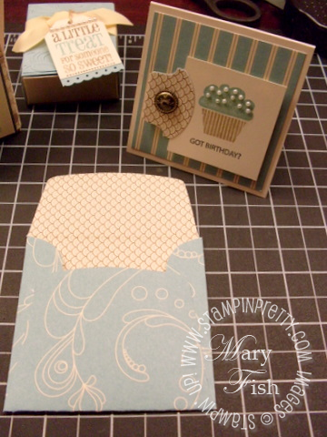 Stampin up elegant soiree mini envelope template