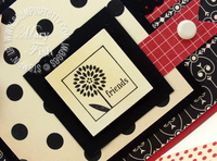 Stampin up cute by the inch hostess stamps