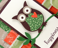 Stampin up owl punch stampin pretty