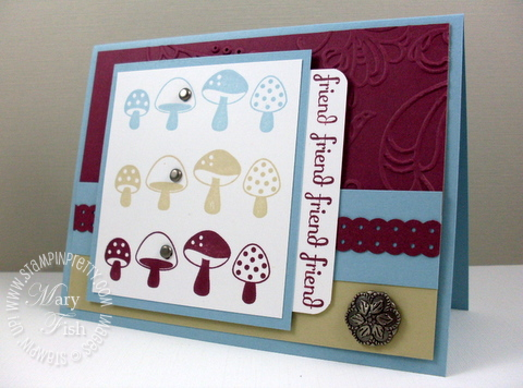 Stampin up funky four fabulous phrases