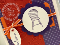 Stampin up have a seat