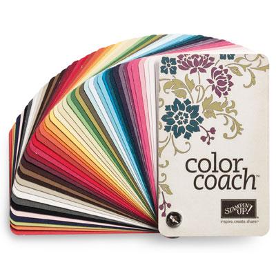 Color coach stampin pretty