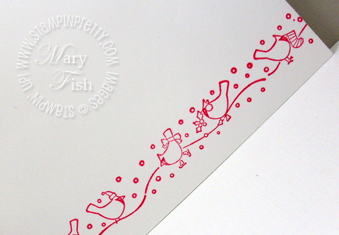 Stampin up little cardinals builder wheel