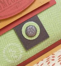 Stampin pretty holiday mini catalog glimmer brad