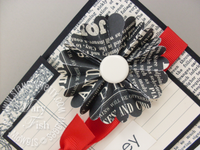 Stampin up scallop circle punch flower