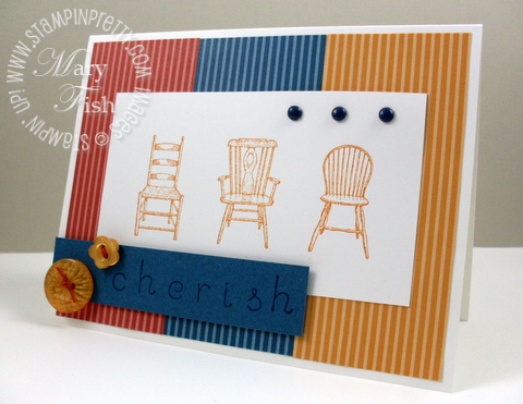 Stampin up have a seat sweet shoppe alphabet