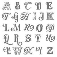 Broadsheet alphabet stampin pretty