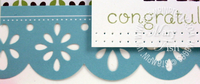 Stampin up nursery suite designer paper