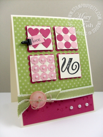 Stampin up stampin pretty blog mojo monday